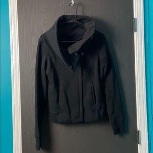 Love Tree Black Zip Up Jacket, size M